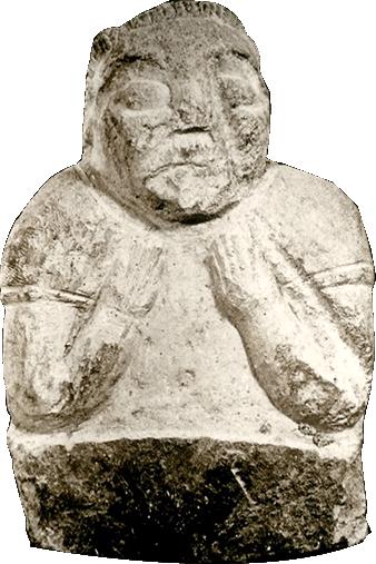 Les Bustes gaulois de Saint-Utel